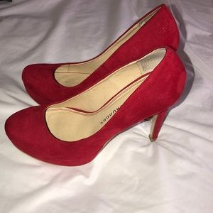 Red Chinese Laundry Heels